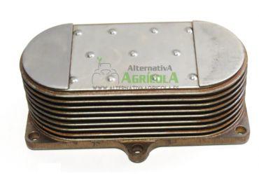 Enfriador aceite 9 placas tractor John Deere con Power Tech