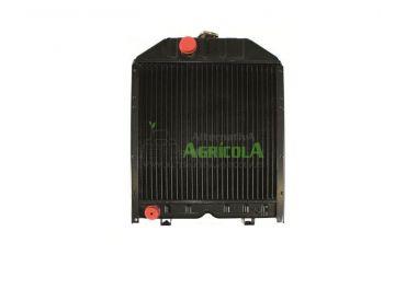 Radiador de Agua para Tractores Landini y Massey Ferguson con Motor Perkins AD3.152, AT3.152.4, A4.236, y A4.248