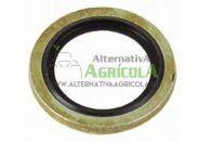"""Arandela metalgoma 1/2"""" (21mm) para hidráulica"""