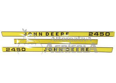 Juego de pegatinas John Deere 2450