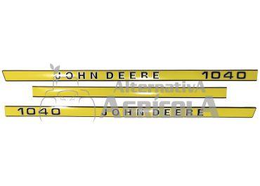 Juego de pegatinas John Deere 1040
