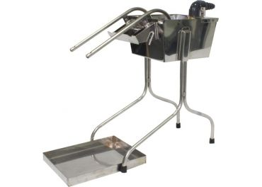 Embotelladora automatica 2 chorros inox