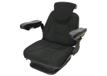 Asiento neumático RM62210 tela negra