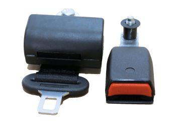498cb035bed Cinturón de seguridad 2 puntos retráctil enrollable