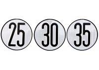 Disco velocidad homologado 35 km/h